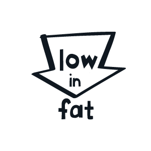Low in fat
